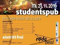 Studentspub Röda@KV Röda