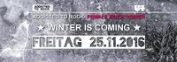 ATR - Female Rock Power ★ Winter is coming ★@U4