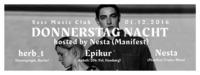 Gästeliste: Donnerstag Nacht hosted by Nesta (Manifest)@SASS