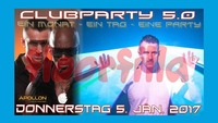 Clubparty 5.0 - mit dem italienischem STAR DJ Duo floorfilla@Disco Apollon