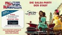 Noche Havana - 2.12.2016 - die Salsa Party der Stadt@Schauspielhaus Salzburg