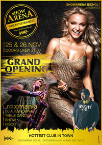 GRAND OPENING - Showarena Ischgl@Showarena