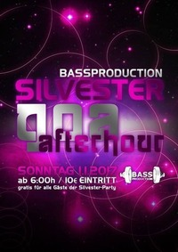 Bassproduction Silvester Afterhour@Weberknecht