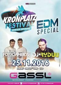 Forrowheads & Ryduu - EDM Special at Gassl (Kronplatz Festival)@Gassl
