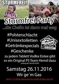 Sturmfrei Party@Party Stadl