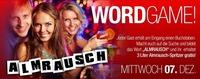 Wordgame-Party@Almrausch Weiz