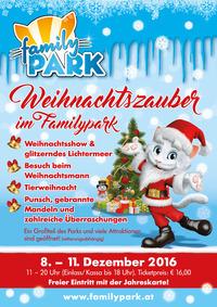 Weihnachtszauber im Familypark@Familypark