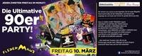 Die Ultimative 90er JAHRE Party!@Fledermaus Graz