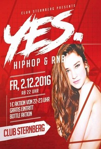 YES. Finest HipHop & RnB@Club Sternberg
