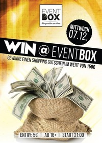 Win at Event Box@The Cube Disco