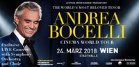 Andrea Bocelli - Cinema World Tour - Wien@Schwarzl See