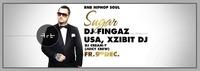 DJ Fingaz (USA, Xzibit DJ) - SUGAR - rnb hiphop soul@Club Alpha