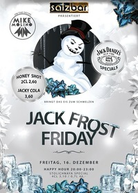 Jack Frost Friday/DJ Mike Molino@Salzbar