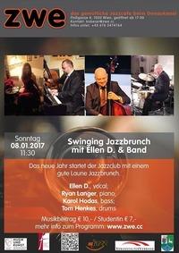 Swinging Jazzbrunch mit Ellen D. & Band@ZWE