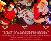 Treffen mit Santa Claus für Kinder mit besonderen Bedürfnissen im Hard Rock Cafe@Hard Rock Cafe Vienna