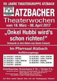 Atzbacher Theaterwochen 2017