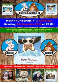 Weihnachtsparty im Kuhstall am Hl. Abend@Kuhstall