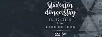 Studentendonnerstag- Besinnlicher Absturz@Platzhirsch