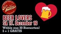 Beer Lovers!@Rockys Music Bar