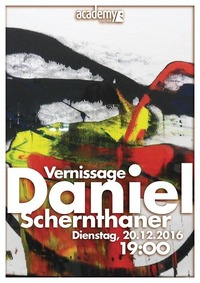 Vernissage: Daniel Schernthaner@academy Cafe-Bar