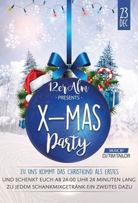 X-Mas Party@12er Alm Bar