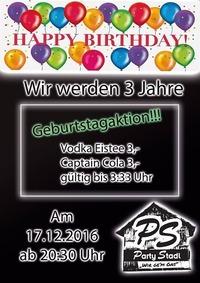 Wir feiern Geburtstag@Party Stadl