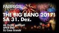 The BIG Bang 2017!@Fabrics - Musicclub