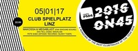 FM4 2016 on 45 in Linz@Club Spielplatz