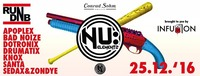 Infusion presents RUN DNB /w Nu Elementz@Conrad Sohm