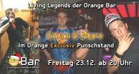 • Cmaz & Marv • im Orange Punschstand@Orange Bar