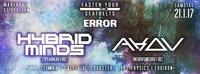 Fasten Your Seatbelts x ERROR w/ Hybrid Minds & Akov@Warehouse