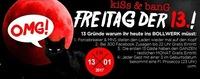 KISS & BANG am Freitag den 13.!@Bollwerk Klagenfurt