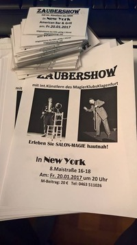 Zaubershow@New York