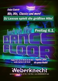 Back on the Dancefloor / 80s, 90s, Classics & more@Weberknecht