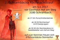 2. Schrambäcka Rauhnachtslauf@Gasthof am Steg