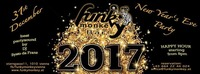 New Years Eve Party - Saturday December 31st 2016@Funky Monkey