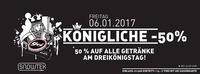Königliche -50% im GEI Musikclub, Timelkam@GEI Musikclub