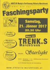 Faschingsparty des ASKÖ SV Mauky's Verfliesung Viktoria Marchtrenk@Kulturraum Trenks Marchtrenk