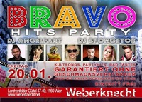 BRAVO Hits Party at Weberknecht // 20.01.2017@Weberknecht