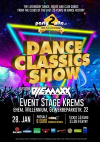 Dance Classics Show Vol. 5@Event Stage Krems