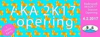 Badespaß Aka2k17 Season Opening@Viper Room