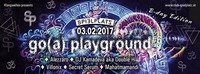Go(a) playground.B-day Edition- Villonix & Mahatmamandi@Club Spielplatz