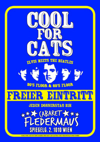 COOL FOR CATS - ELVIS BIRTHDAY SPECIAL@Cabaret Fledermaus