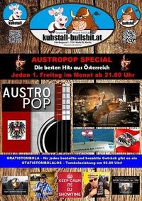 Austropop Special am 1. Freitag des Monats@Kuhstall