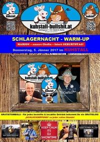 Schlagernacht Warm-up Geburtstagsfeier Chefin Marion@Kuhstall