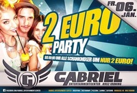 2 € PARTY @Gabriel Entertainment Center