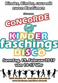 Kinderfaschingsdisco@Discothek Concorde