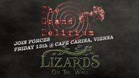 The Grand Delirium & Lizards On The Wall@Café Carina