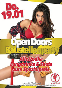 Baustellen-Party@Kaktus Bar
