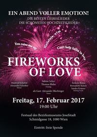 Die schönsten Liebes- und Hochzeitslieder: Fireworks of Love@Bezirksmuseum Josefstadt,